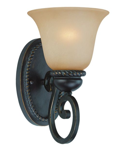 25201-MB Wall Sconce Mocha Bronze