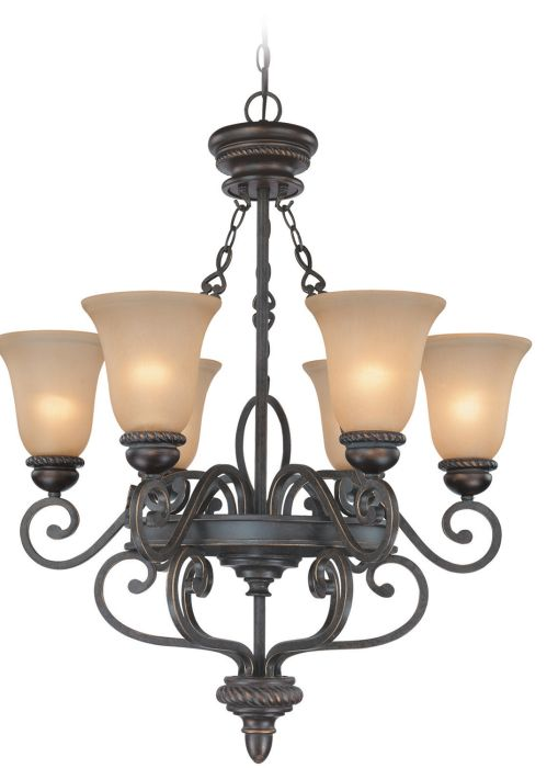 25226-MB Chandelier Mocha Bronze