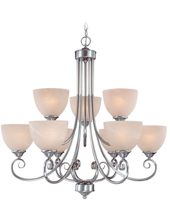 Raleigh 9 Light Chandelier