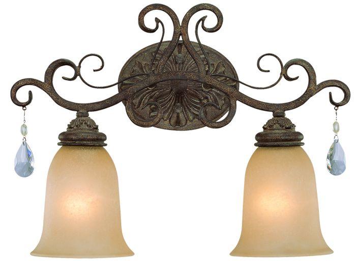 25602-FR Vanity Light French Roast