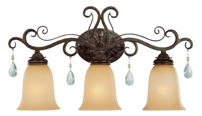 25603-FR Vanity Light French Roast