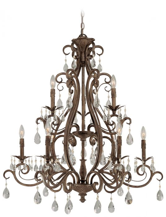 Englewood 9 Light Chandelier