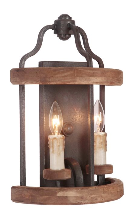 Ashwood 2 Light Vanity