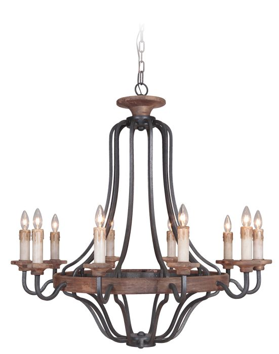 Ashwood 10 Light Chandelier