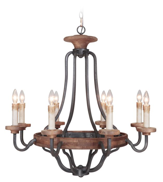 Ashwood 8 Light Chandelier