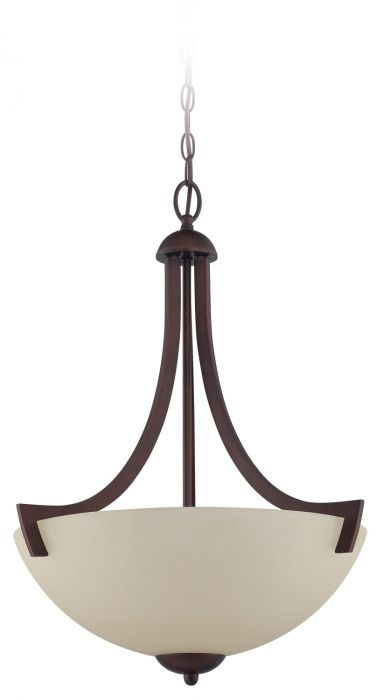 Almeda 3 Light Inverted Pendant