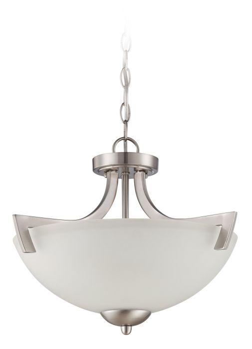 Almeda 3 Light Convertible Semi Flush/Pendant