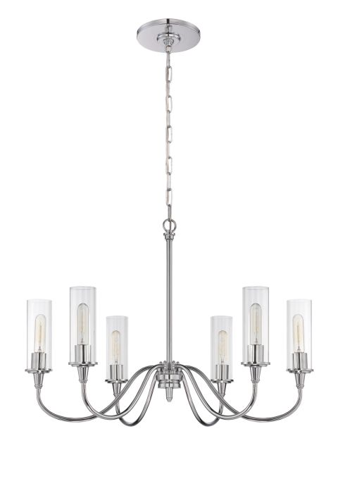 Modina 6 Light Chandelier