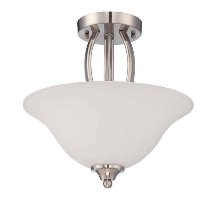 Northlake 2 Light Convertible Semi Flush/Pendant