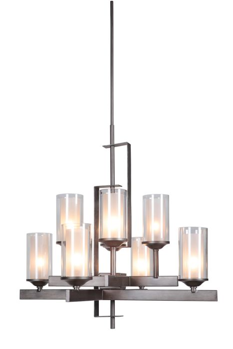 39318-NIVNI Chandelier Natural Iron-Vintage Iron