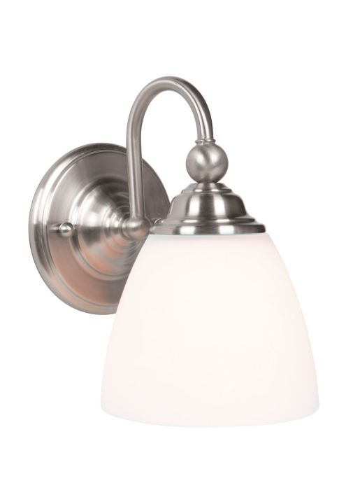 39901-BNK Wall Sconce Brushed Polished Nickel