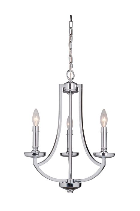 40023-CH Chandelier Chrome