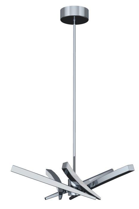 40815-CH-LED Chandelier Chrome