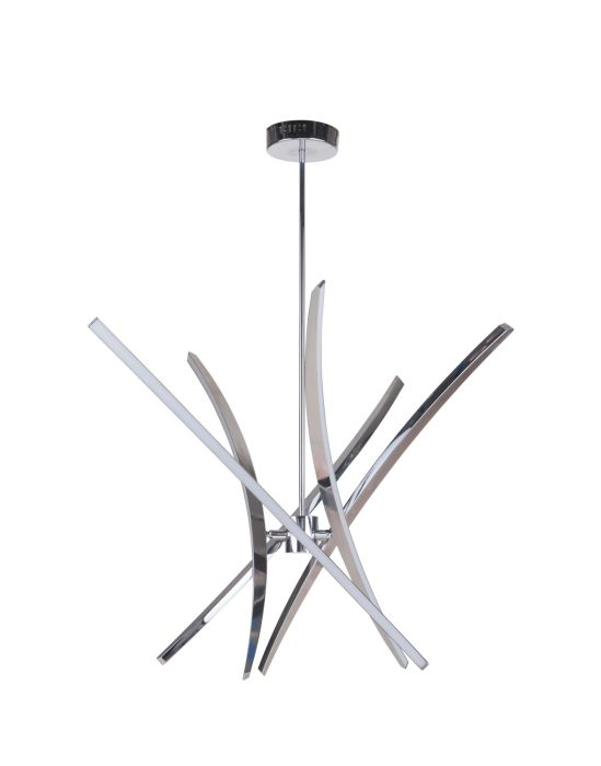40825-CH-LED Chandelier Chrome