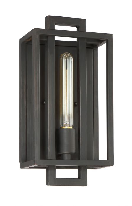 Cubic 1 Light Wall Sconce