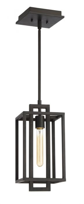 Cubic 1 Light Mini Pendant