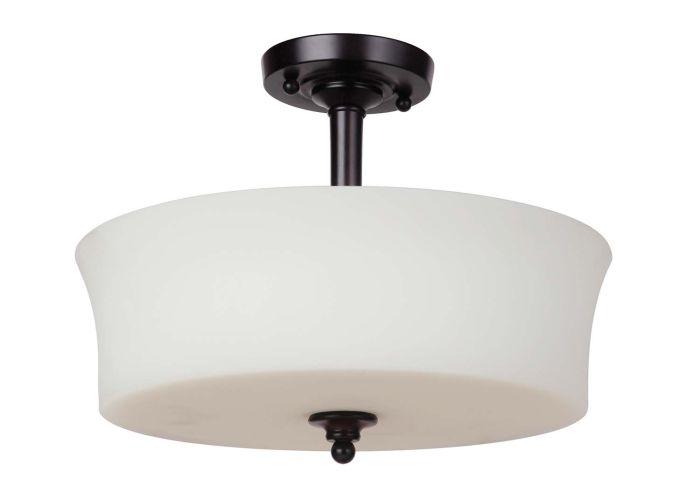 Helena 3 Light Semi Flush