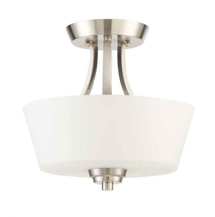 Grace 2 Light Convertible Semi Flush