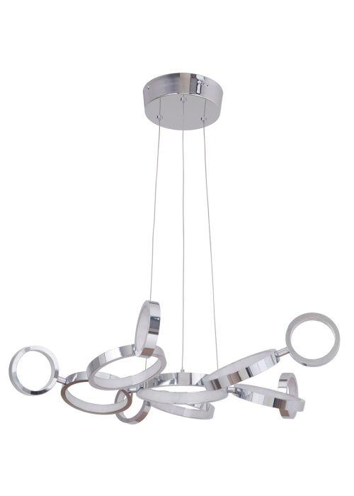 47191-CH-LED LED Chandelier Chrome