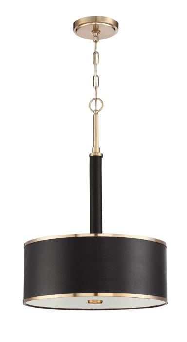 48893-SB Pendant Satin Brass