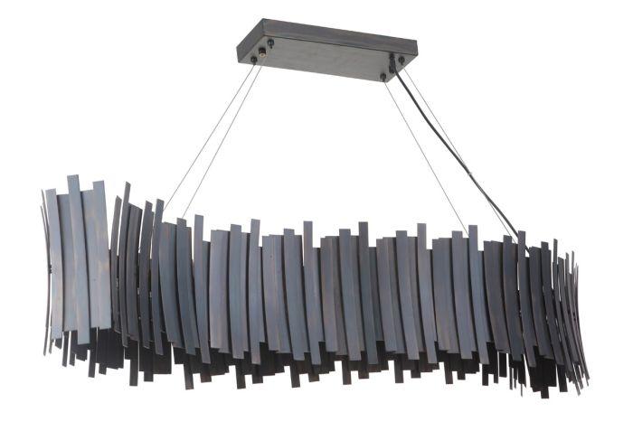 49470-FS-LED Island Fired Steel