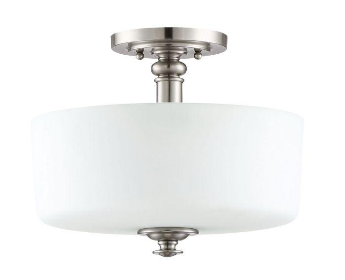Dardyn 3 Light Convertible Semi Flush/Pendant