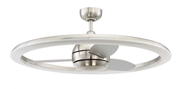 ANI36BNK3 Ceiling Fan (Blades Included) Brushed Polished Nickel