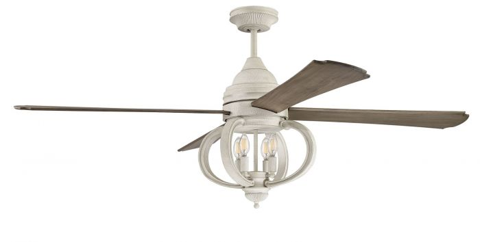 AUG60CW4 Ceiling Fan (Blades Included) Cottage White