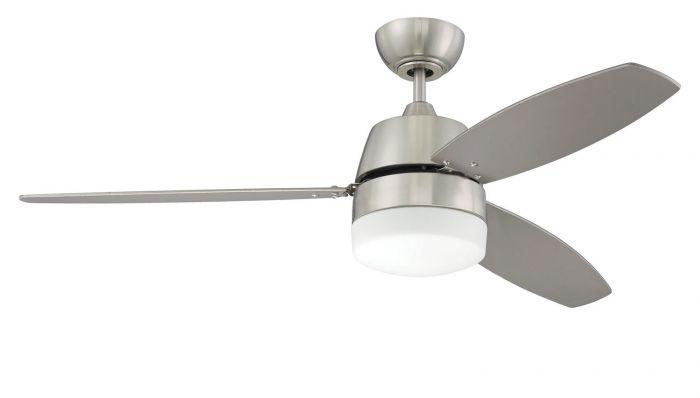 BEL52BNK3-LED Ceiling Fan (Blades Included) Brushed Polished Nickel