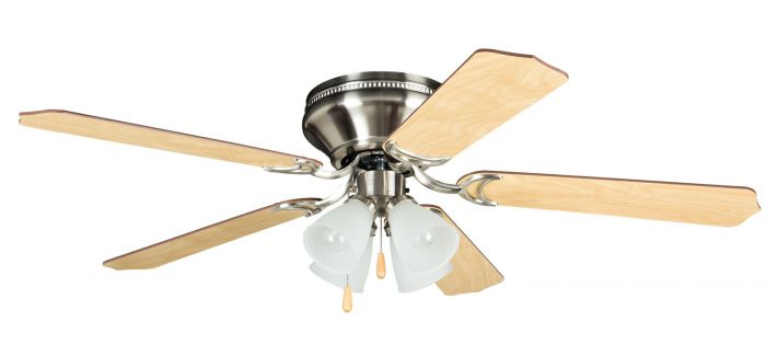 "Brilliante 4 Light 52"" Ceiling Fan with Blades and Light Kit"