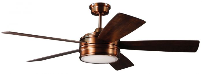 "Braxton 52"" Ceiling Fan with Blades and Light Kit"