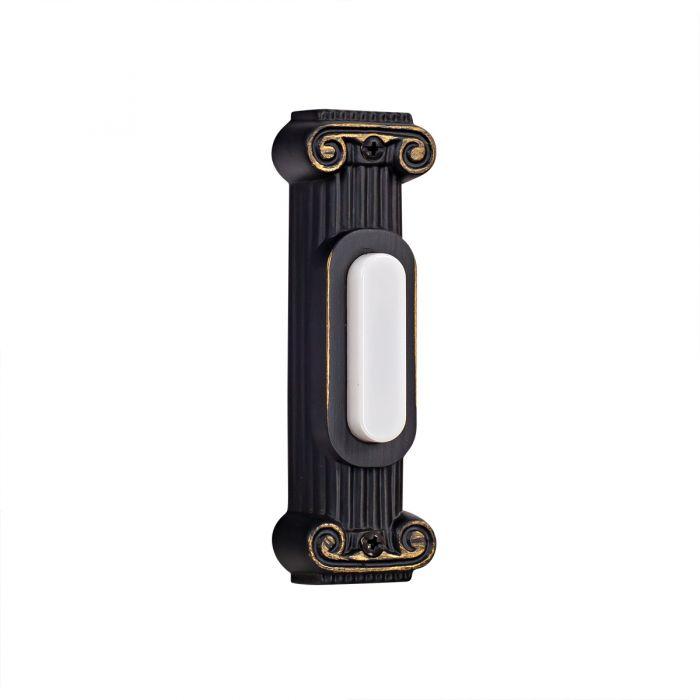 BSCOL-AZ Lighted Push Button Antique Bronze