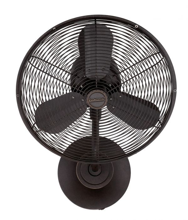 "Bellows I Hard-wired 16"" Hard-Wired Wall Mount Fan"