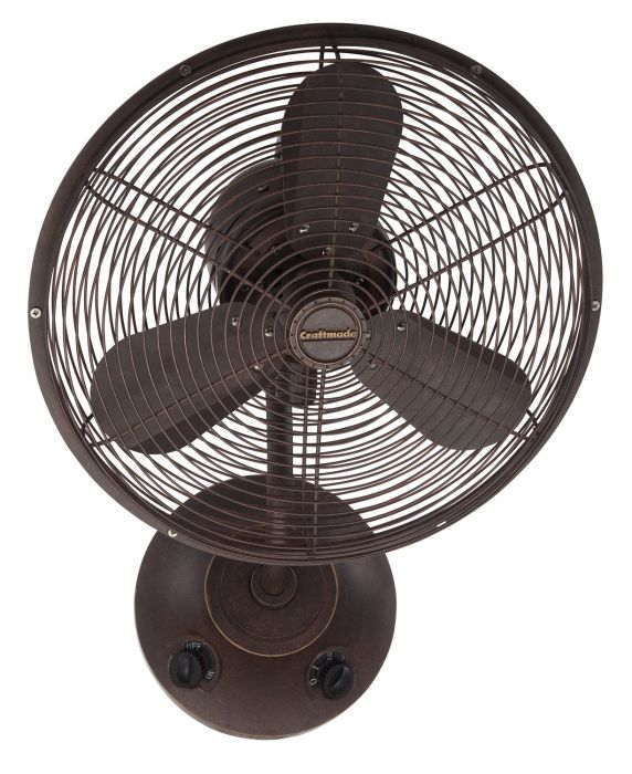 "Bellows I 16"" Wall Mount Fan"
