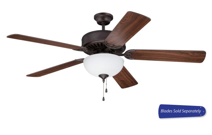 "Pro 201 52"" Ceiling Fan with Light (Blades Sold Separately)"