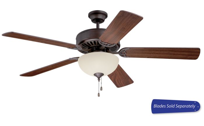 "Pro 202 52"" Ceiling Fan with Light (Blades Sold Separately)"