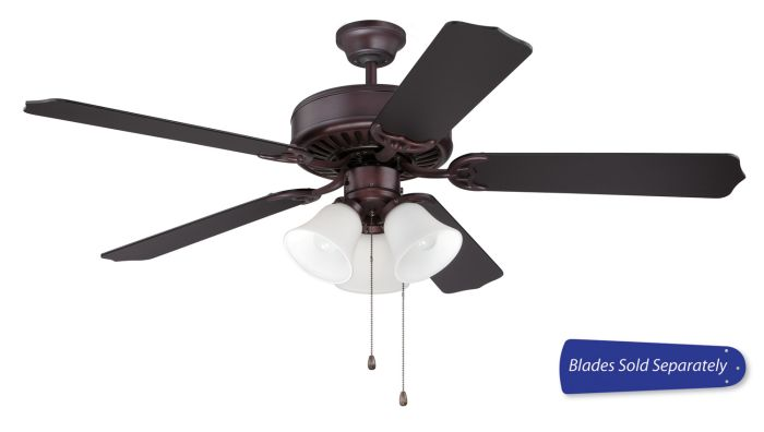"Pro 205 52"" Ceiling Fan with Light (Blades Sold Separately)"