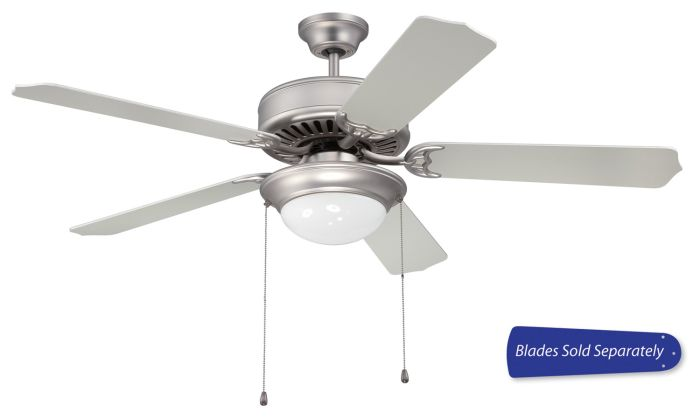 """Pro 209 52"""" Ceiling Fan with Light (Blades Sold Separately)"""