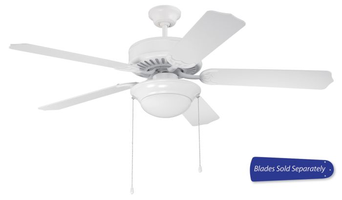 "Pro 209 52"" Ceiling Fan with Light (Blades Sold Separately)"