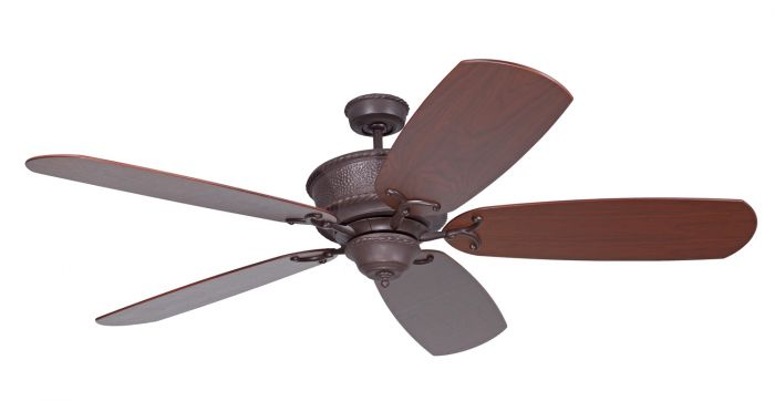 DCRT70AG Customizable Fan - Select Blades (Sold Separately) Aged Bronze Textured