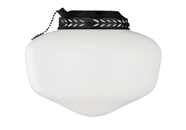 Universal Bowl Light Kit 1 Light Schoolhouse Fan Light Kit
