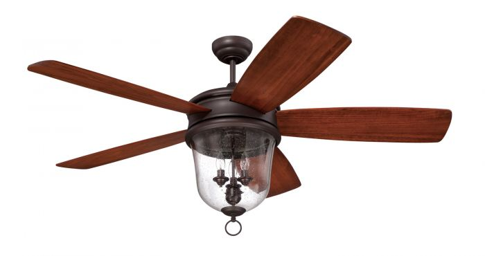 FB60OBG5 Ceiling Fan (Blades Included) Oiled Bronze Gilded