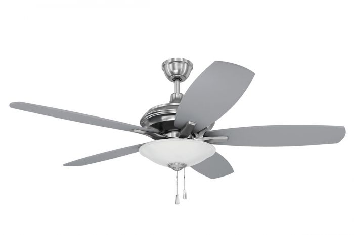 """Jamison 52"""" Ceiling Fan with Blades and Light Kit"""