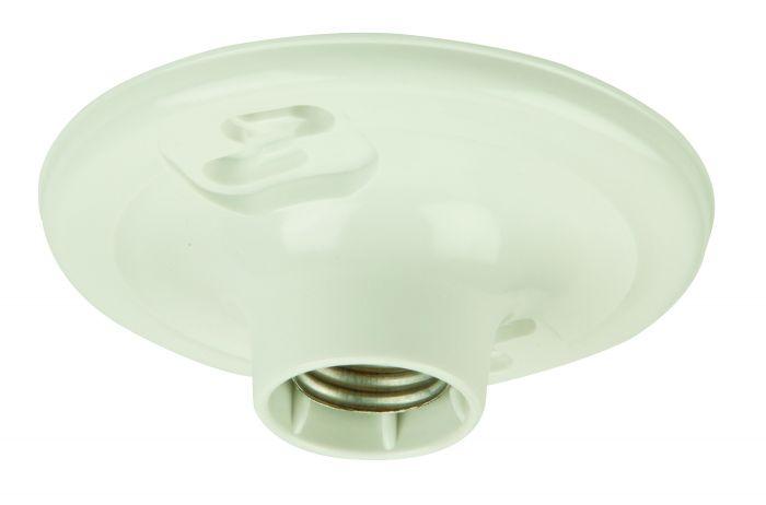 K212-P Keyless Lamp Holder White