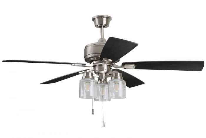 """Kate 52"""" Ceiling Fan with Blades and Light Kit"""