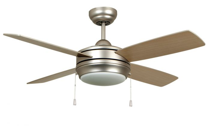 "Laval 44 44"" Ceiling Fan with Blades and Light Kit"