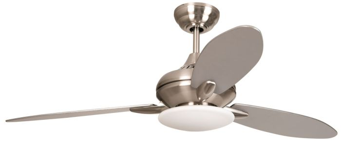 LO52BNK3 Ceiling Fan (Blades Included) Brushed Polished Nickel