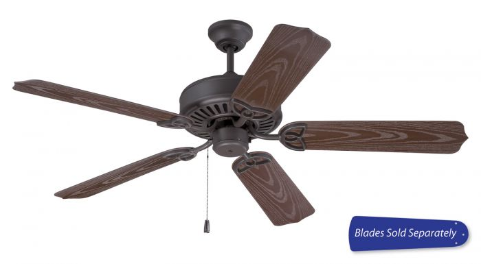 """Outdoor Patio Fan 52"""" Ceiling Fan (Blades Sold Separately)"""