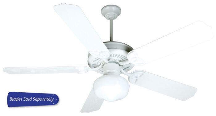 "Outdoor Patio Fan 52"" Ceiling Fan (Blades Sold Separately)"
