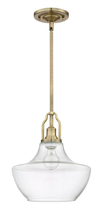 P640LB1 Mini Pendant Legacy Brass